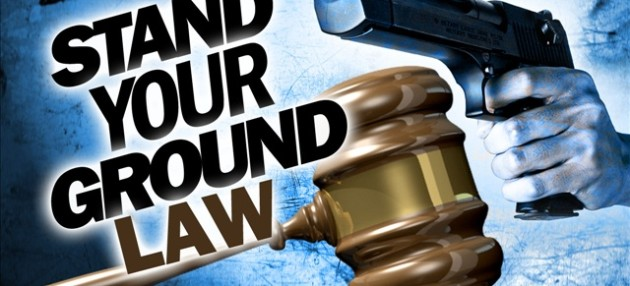 stand your ground law The idea of the right to defend oneself may seem universal, but in her new book stand your ground: a history of america's love affair with lethal self-defense.